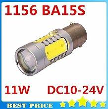 5 COB LED 11W Aluminium Anti-beschlag-Lampe des Rückfahrscheinwerfers H1 H3 H4 H7 H8 H11 1156 T20, 1156