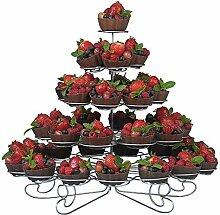 5Etagen Spirale Metall Cupcake-Ständer–41Mini Kuchen, Display Halterung–für Partys und Anlässe trimmen Shop®