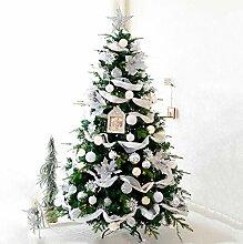 5 Ft Weihnachtsbaum Geschmückt Grün PVC