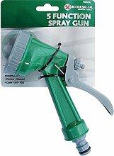 5Funktion Garten Schlauch Spritze Gun Bewässerung für Pflanzen Mis