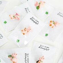 5 kleine Gastgeschenke verpackt süße