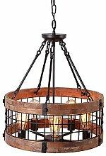 5-Licht Mini Kronleuchter Deckenfluter Lackierte