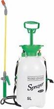 5 Liter Drucksprüher, für den Garten, Wasser,