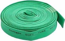 5m 8mm Dia Grün Polyolefin zum Schrumpfen Schrumpfschlauch-Röhren
