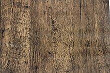 5m Vintage braun Holz Sticky Back Kunststoff 3D