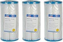 5Mikron–25,4cm Jumbo Bundfaltenhose waschbar Filter–Bio Diesel wiederverwendbar Sediment Wasserfilter Kartusche–Sediment Filtration für harte Wasser Behandlung/Regen Wasser gut Ernte