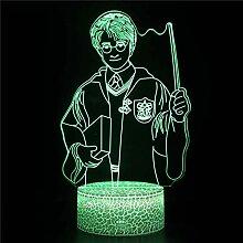 5 PCS 3D-Nachtlicht für Kinder, Jungen,