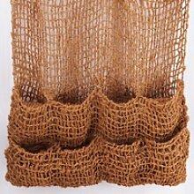 5 Pflanztaschen Kokosgewebe 8 Taschen Ufermatte