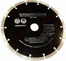 5 Profi Diamant-Trennscheibe, 125 mm Stein Beton