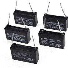 5rechteckige Kondensatoren für Klimaanlage-Motoren, 450V, 1uFCBB61