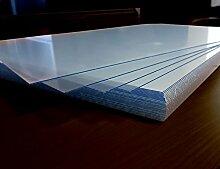 5 Stck 60 x 60 cm Acrylglas klar 1mm Kunststoff