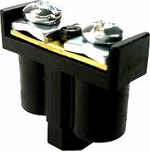 5 Stk. Doppelklemme Dosenklemmen Klemmen 2x1-4mm2 schwarz Kabelanschlüsse Klemme Verteilerdosenklemme 092-05 ViPlast 8141