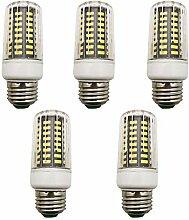 5 Stück 7W E27 LED Lampe Beleuchtung,AC 85-265V