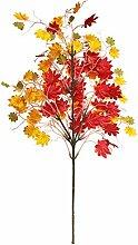 5 Stück Gefälschte Pflanzen Ahornblatt