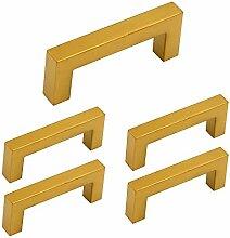 5 Stück Goldenwarm Kommoden Griff Rustikale