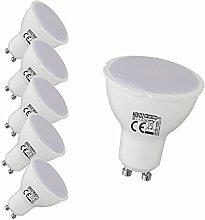 5 Stück GU10 LED Spot Einbauleuchte Einbauspot