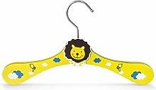 5 Stück - Kinderbügel aus Holz - Motiv Löwe