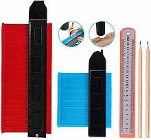 5 Stück Konturenlehre Profillehre Messwerkzeug