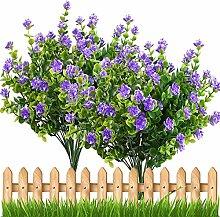 5 Stück künstliche Blumen im Freien Pflanze