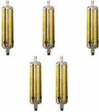 5 Stück LED Mais-Licht 10W R7S Warmweiß 3000K