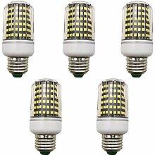 5 Stück LED Mais-Licht 12W E27 Warmweiß 3000K