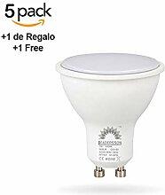 5 Stück LED-Reflektorlampe Geringer Verbrauch