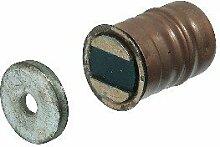5 Stück - Magnetschnäpper Schrank-Tür rund