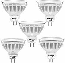 5 Stück Marilux® 5.5W GU5.3 LED Lampe Spot