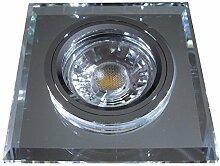 5 Stück MCOB LED Glas Einbaustrahler Jonas 12