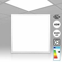 [5 Stück] Rasterleuchte LED Panel 62x62, 3CCT