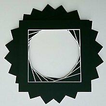 5Stück schwarz Instagram quadratisch Bespoke