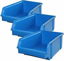 5 Stück Set Stapel - Aufbewahrungs - Box
