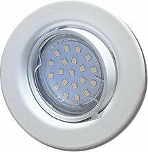 5 Stück SMD LED Einbaustrahler Elena 230 Volt 3