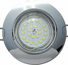 5 Stück SMD LED Einbaustrahler Fabian 12 Volt 5