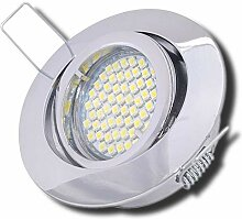 5 Stück SMD LED Einbaustrahler Laura 230 Volt 5