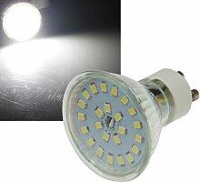 5 Stück | SMD LED Leuchtmittel | 230Volt | Sockel GU10 | 5Watt | 420Lumen | 4000Kelvin | Neutralweiß | ø 50mm | EEK A+