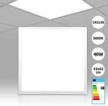 [5 Stück] Xtend LED Rasterleuchte 62x62
