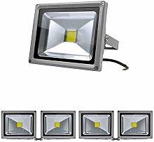 5 Stücke 10W/20W/30W/50W/100W LED Strahler Fluter