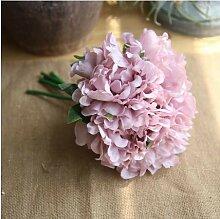 5 STÜCKE Seide Pfingstrosen Künstliche Blume
