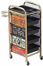 5-stufiger Salonwagen Schubladenwagen mit 4