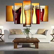 5-Teilige Printed Canvas Panels Hd Leinwand