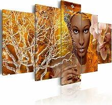 5-tlg. Leinwandbilder-Set Geschichten aus Afrika