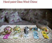 5-Tlg Set Japan, Wind Chimes Windspiel Glocken,