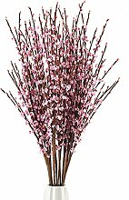 5 x 75 cm Lange künstliche Blumen Winter Jasmin