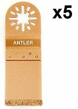 5x Antler 35mm Hartmetall Klingen fein