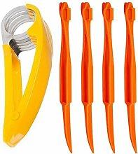 5 x Bananenschneider, Orangenschäler,