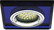 5 x Einbaustrahler Morta blau IP20 inkl. GU10