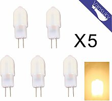 5 x G4 1.5 w 170 Lumen LED Birne, 12 * 2835 SMD