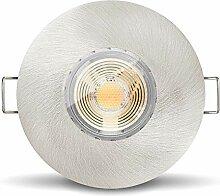 5 x LED Bad Einbauleuchte IP65 Set von Ledox mit