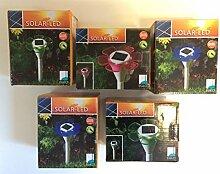 5 x Led Blume Solarleuchte ,Solarspieß ,Gartenleuchte , Leuchte ,Aussenleuchte ,Terrassenleuchte , Solarlampe Se